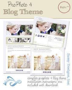 Maggie  - ProPhoto Blog Theme  Photography Blog Design