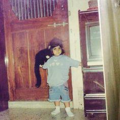 #childhoodmemories #babyme #throwback #nofilter #instapic #instamemory #monkey #childhood #fatchild #mumbai by jinal94