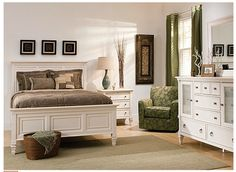 somerset queen bedroom set in alabaster white will adorn your bedroom with the quaint look and classic presence only timeless white furniture can offer