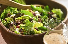 Healthy and delicious! Balsamic Cranberry Cherry Vinaigrette is perfect for your next summer salad