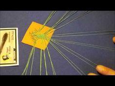Araña de Encaje de Bolillos de Nora Bermúdez MODELO 1- Bolillotutorial Adsuar - YouTube