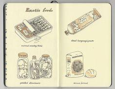 exotic foods by Mattias Adolfsson, via Flickr