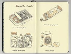 exotic foods by Mattias Adolfsson, via Flickr