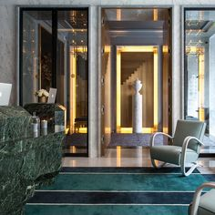 <p>This new hotel features a very Parisian atmosphere in a sophisticated palette imagined by decorator Jean-Louis Deniot. Part of the Evok Hotels group,The Nolinski is moments away in the heart of Par