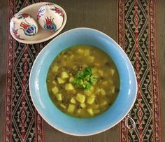 """Potato and Mung Bean Soup is a vegan and gluten free soup with all the goodness of mung beans. I have had the recipe for a long time and is one of my favourite soups of all time, too. But before the recipe, I'd like to say something about beans… Beans are incredibly valuable part… <a href=""""http://vegfusion.org/potato-mung-bean-soup-2/"""" class=""""more-link"""">Continue reading <span class=""""screen-reader-text"""">Recipe: Potato..."""