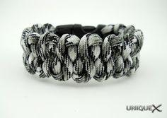 Unique Ropecraft: Dragon's Tongue Bracelet with Buckle