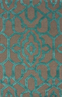 Satara Ornate Trellis Charcoal Rug