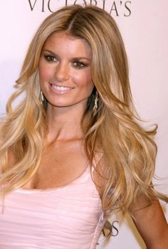Love Marisa Miller's hair and makeup...she is HANDS down my favorite model ever!!