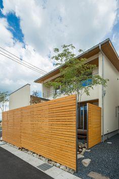 Exterior Design, Interior And Exterior, Fence Design, Balcony Garden, Home Deco, Curb Appeal, Entrance, Pergola, Yard