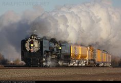 Union Pacific Challenger and Passenger Cars