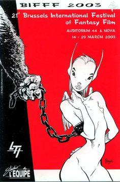 Festival International du Film Fantastique et de Science-Fiction de Bruxelles…