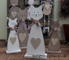Love Cats then these are made specially for you ... http://www.designsonpine.co.uk/the-home/Decorative-Accessories/101/3/5349