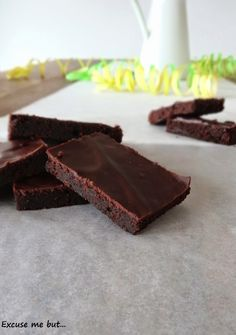 Brownies– So saftig, weich und schokoladig