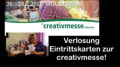 Verlosung Eintrittskarten Creativmesse München 2016/ RuthvonG