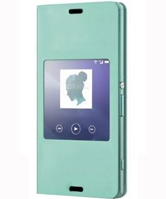 Sony Xperia Z3 Compact Smart Style-Up Cover - Groen