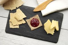 Slate cheeseboard from Brooklyn state Co. - Going to need to get me one of these