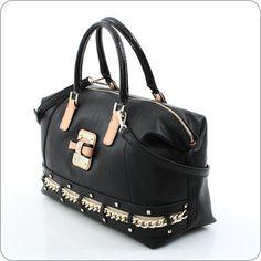 GUESS ONLINESHOP : Handtasche Guess Ellese - Box Satchel Black