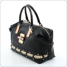 GUESS ONLINESHOP : Handtasche Guess Ellese - Box Satchel Black