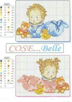 kid friendly healthy recipes for picky eaters 2017 free episodes Baby Cross Stitch Patterns, Cross Stitch Designs, Baby Patterns, Doll Patterns, Just Cross Stitch, Cross Stitch Baby, Cross Stitching, Cross Stitch Embroidery, Baby Dyi