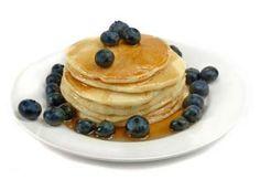 Pancakes aux bleuets et à la cannelle #paques #brunch