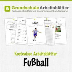 Fußball-WM, Leseaufgaben, Deutsch, 1. und 2. Klasse | Deutsch lernen ...