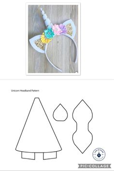 Details about 4 Colours – Girls Minnie Mouse Glitter Ears Hair band Disney Desig… – Beauty ideas Diy Unicorn Headband, Diy Headband, Headbands, Felt Crafts, Diy And Crafts, Crafts For Kids, Unicorn Themed Birthday Party, Bow Template, Disney Designs