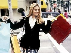 Shopping sprees are as effective as therapy and only a little more expensive. | 32 Pieces Of Life Advice From CherHorowitz