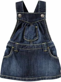 Already bought this for baby G .Ruffle-Bottom Denim Skirtalls for Baby, old navy Baby Girl Shoes, Baby Girl Dresses, Baby Girls, Baby Baby, Outfits Niños, Kids Outfits, Little Girl Fashion, Kids Fashion, Traje Casual