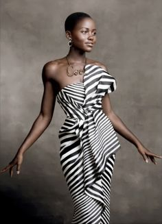 Beautiful Lupita Nyong'o in Vogue - January 2014