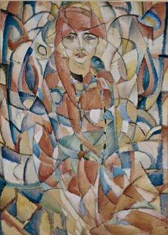 Damesportret Leo Gestel - Stedelijk Museum Amsterdam