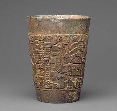 Beaker (kero): [Peru; Tiwanaku] (1978.412.214) | Heilbrunn Timeline of Art History | The Metropolitan Museum of Art