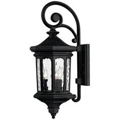 Buy the Hinkley Lighting Museum Black Direct. Shop for the Hinkley Lighting Museum Black Raley 3 Light Tall Outdoor Lantern Wall Sconce with Clear Water Glass and save. Wall Lights, Wall Sconces, Outdoor Wall Lantern, Glass Shades, Outdoor Wall Sconce, Hinkley Lighting, Outdoor Lanterns, Outdoor Walls, Light