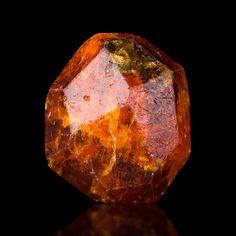 CarrotOrange SPESSARTINE GARNET Floater Crystal Tanzania