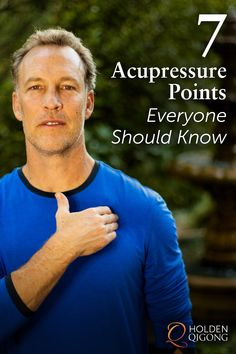 7 Acupressure Massage Points Everyone Should Know
