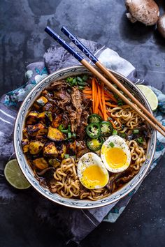 Crockpot Pork Ramen With Curry-Roasted Acorn Squash | 31 Delicious Things To Cook In October