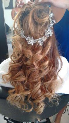 Wedding hair... No veil
