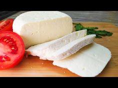 Brânză de casă cu 3 ingrediente, o rețetă rapidă și ușoară de brânză de casă # 11 - YouTube 7 Layer Salad, Cooking Cheese, Homemade Cheese, How To Make Cheese, Cheese Recipes, Brunch Recipes, Food Hacks, Mozzarella, Feta