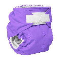 Rumparooz Cloth Diaper - Amethyst - APLIX - TRADED April 18th