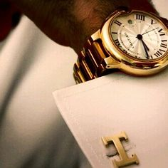cartier watch -  Hermes cuffing