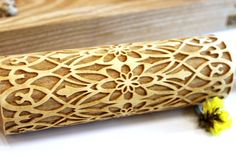 FLOWER Embossing Rolling Pin Laser Engraved Embossed Dough Roller FLORAL FOLK  Pattern Christmas Gift Personalized Rolling Pin 5 gift valentines day gift embossed rolling pin Bakeware rolling pins wooden rolling pins dough roller flower rolling pin engraved rolling pin floral pattern floral rolling pin pattern rolling pin laser engraved 21.99 USD #goriani