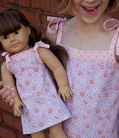 Oliver + S Popover Sundress and Doll Dress  Free sewing patterns