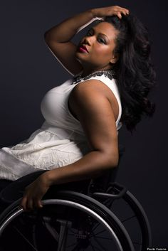 Stunning Photos Of Women With Disabilities Showcase Their Beauty And Strength.  >>> See it. Believe it. Do it. Watch thousands of spinal cord injury videos at SPINALpedia.com