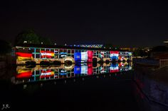 Illuminations barrage Vauban 2014 - 17 / Petite France - #Strasbourg - #Alsace - France