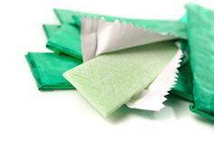 Goma de mascar sin azúcar - Fotolia