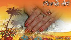 #nail #nailart #design #gelnail #palmtree #summer #south