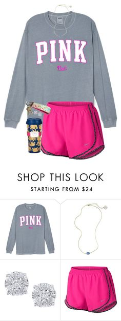 """ahhh i'm so sorry for being inactive! so much school work!"" by blonde-prepster ❤ liked on Polyvore featuring Kendra Scott, Effy Jewelry, NIKE and Lilly Pulitzer"