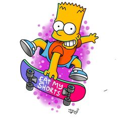 Iphone Wallpaper Quotes Funny, Simpson Wallpaper Iphone, Phone Wallpaper For Men, Homer Simpson Drawing, Bart Simpson, Graffiti Drawing, Cool Art Drawings, The Simpsons, Simpsons Drawings