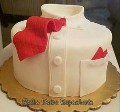 Tie cake/ pastel camisa y corbata