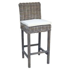 I pinned this Samurai Rattan Bar Stool from the Mangrove Imports event at Joss and Main!