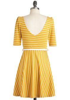 Difference Between White and Saffron Dress | Mod Retro Vintage Dresses | ModCloth.com